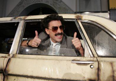 O novo Borat e o novo anormal