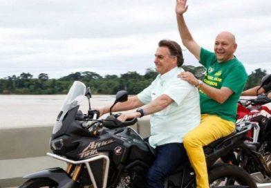 A motocicleta é a nova camisa da cbf